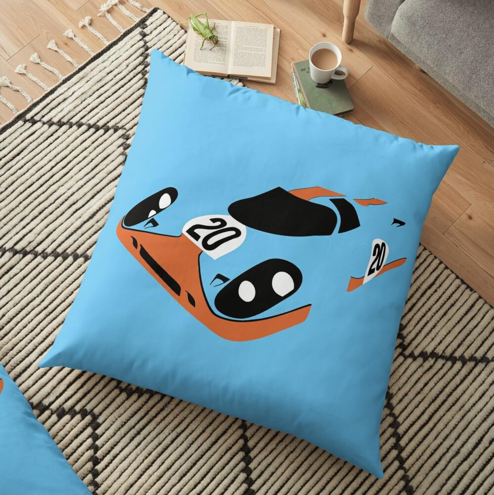 917 Le Mans Floor Pillow