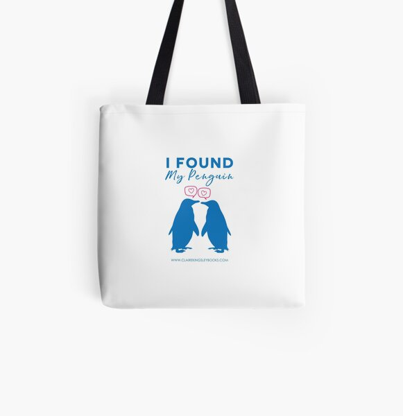 I Found My Penguin All Over Print Tote Bag