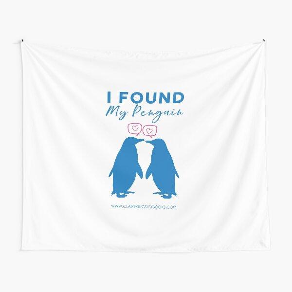I Found My Penguin Tapestry