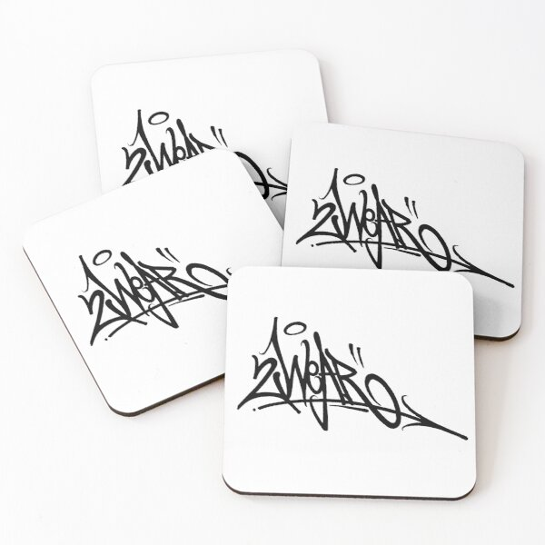 Tag Style 2 Coasters (Set of 4)