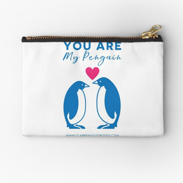 You Are My Penguin Zipper Pouch