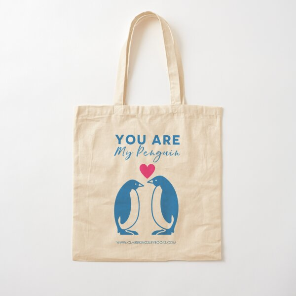 You Are My Penguin Cotton Tote Bag