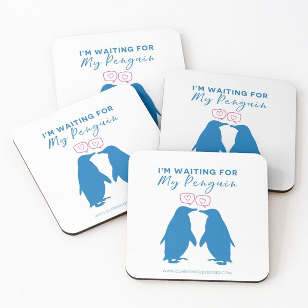 I'm Waiting For My Penguin Coasters (Set of 4)