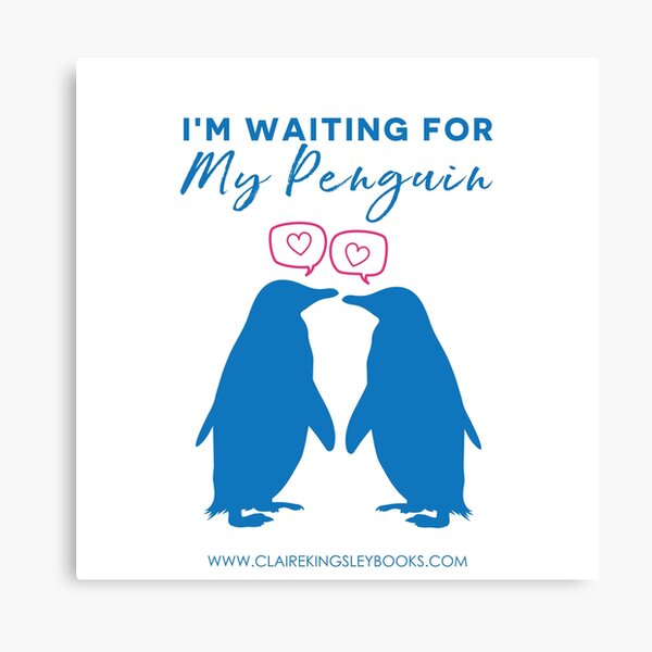 I'm Waiting For My Penguin Canvas Print