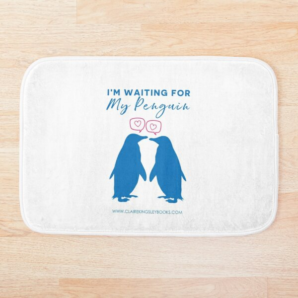 I'm Waiting For My Penguin Bath Mat