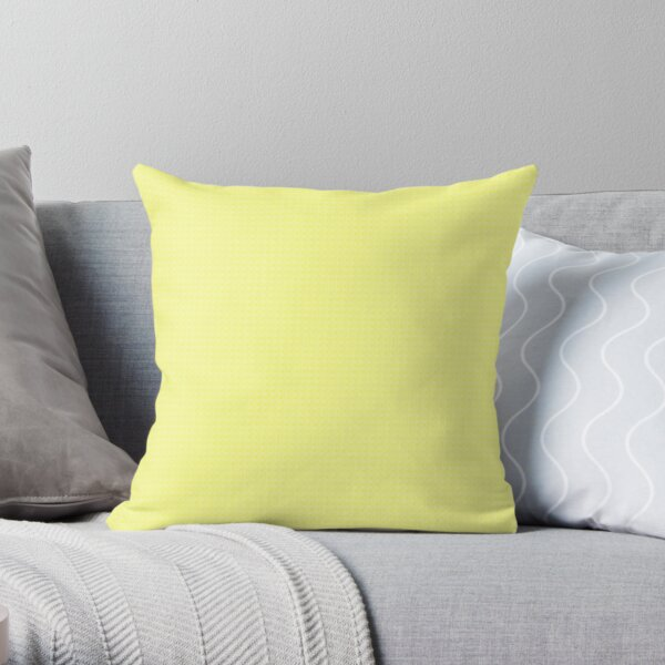 Lemon Sherbet Throw Pillow