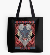 Hunting Club: Stygian Zinogre Tote Bag