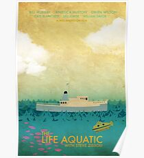 The Life Aquatic Film Poster Poster
