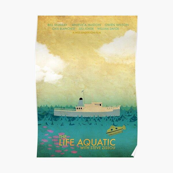 The Life Aquatic Film Poster Poster