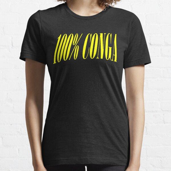 100% CONGA Essential T-Shirt