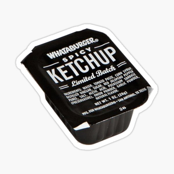 Spicy Ketchup Sticker