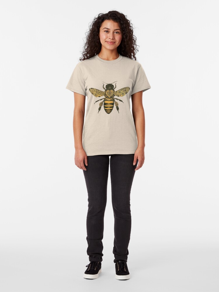 Alternate view of Queen Honey Bee Classic T-Shirt