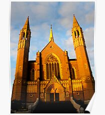 Sacred Heart Cathedral, Bendigo Poster