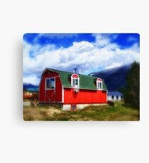 Mini Barn Canvas Print