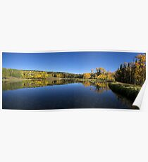 Posey Lake Panorama Poster