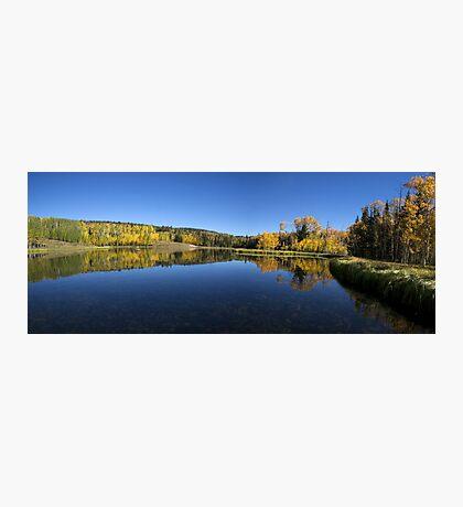 Posey Lake Panorama Photographic Print