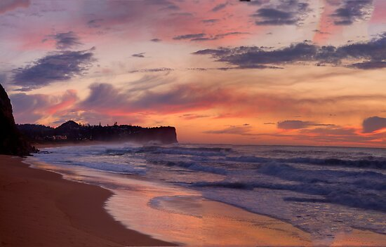Just Another Day In Paradise - Warriewood Beach, Sydney - The HDR Experience by Philip Johnson
