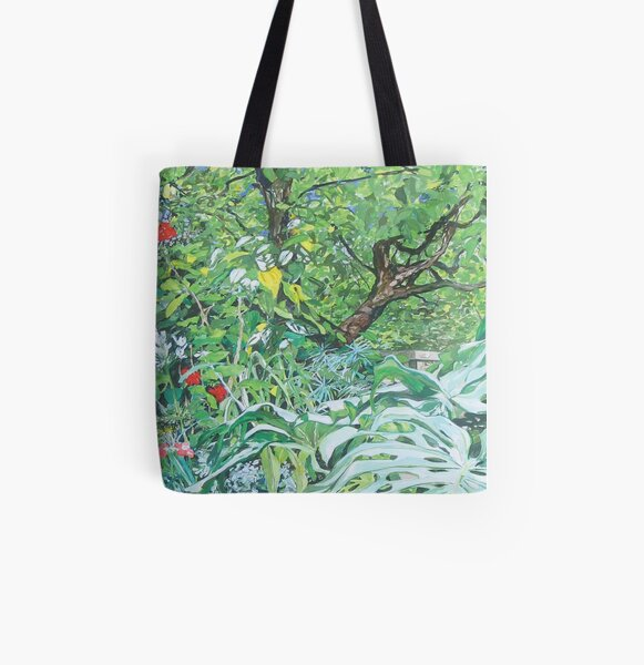 Ria and Tony's garden All Over Print Tote Bag