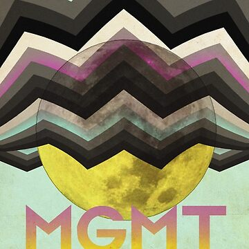 MGMT Tour Poster by paulrice