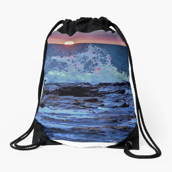 Beyond the Horizon Drawstring Bag