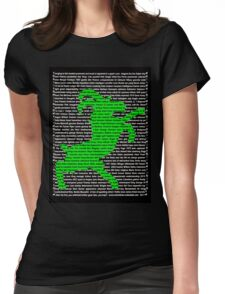 """""""The Year Of The Sheep / Goat / Ram"""" Clothing  Womens Fitted T-Shirt"""