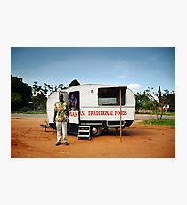 Traditional African Food Stall Photographic Print