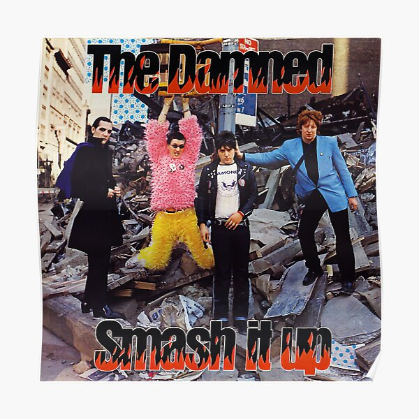 The Damned - Smash It Up Poster