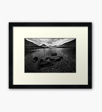 Wastwater 04 - Classic View of Wasdale, Cumbria Framed Print
