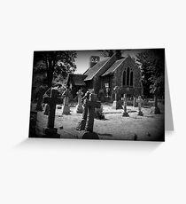 Churchyard Greeting Card