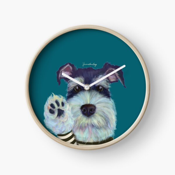 Your Dressed-up Puppy Clock