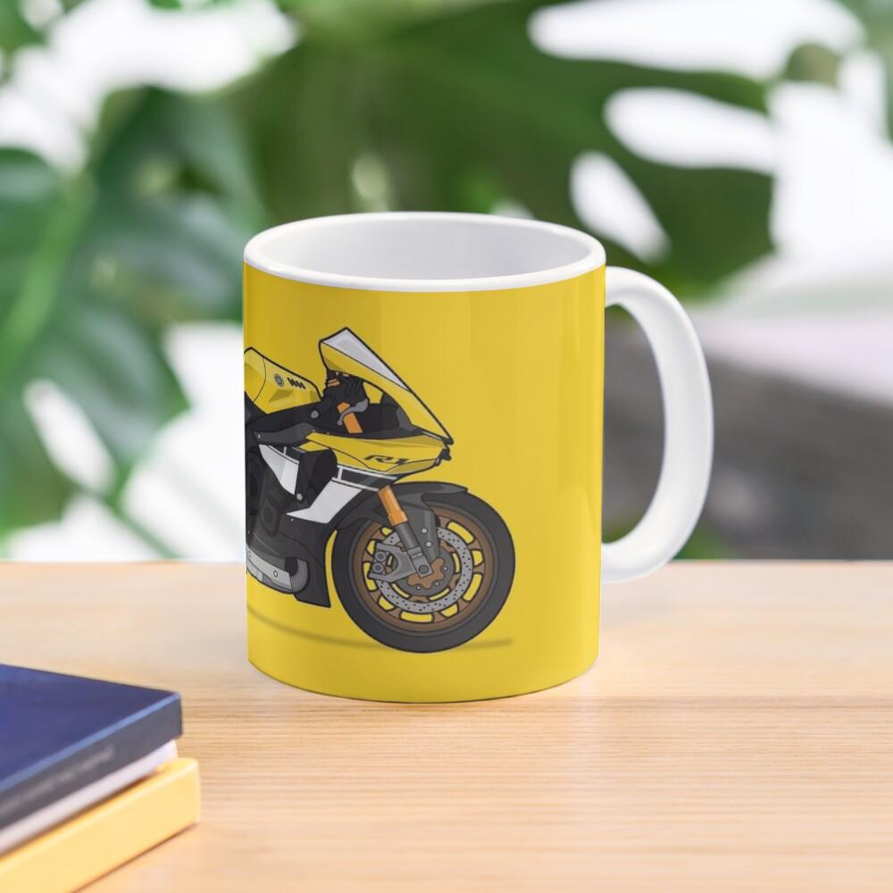 Yamaha 60th R1 Yellow  Mugs Yamaha 11 Oz /& 15 Oz Mugs