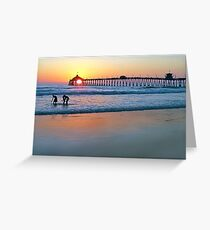 Touched By the Sea Greeting Card
