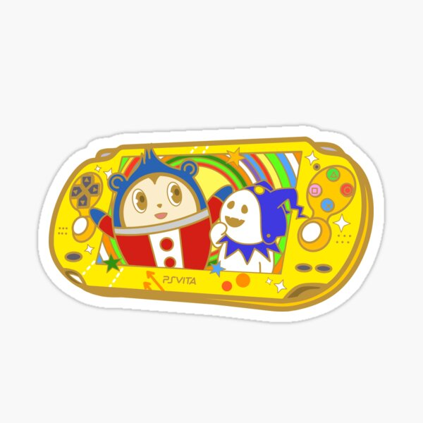 Persona 4 Golden Teddie PS Vita  Sticker