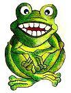 Frog Illustration by plunder