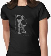 Inevitable - 1 color Women's Fitted T-Shirt