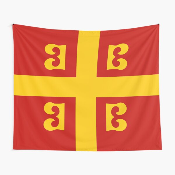 Byzantine Empire Flag and symbol Tapestry