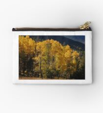 the early fall aspens Studio Pouch