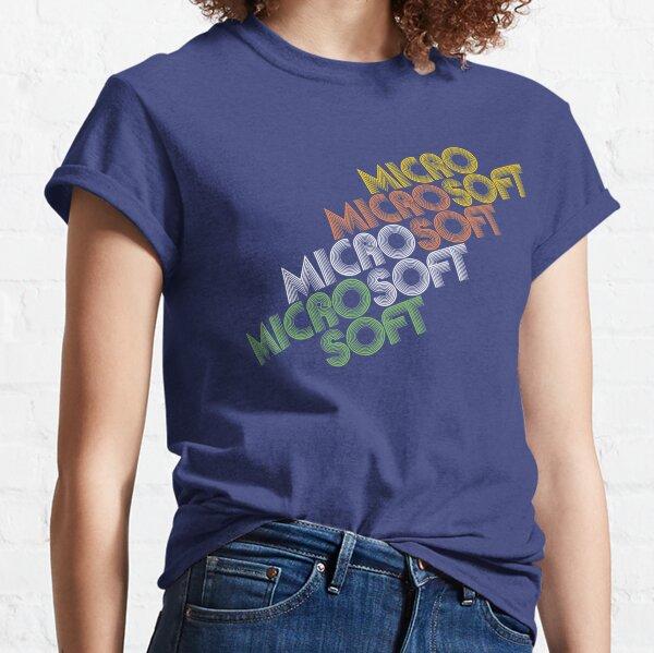Vintage Microsoft logo T-shirt Classic T-Shirt