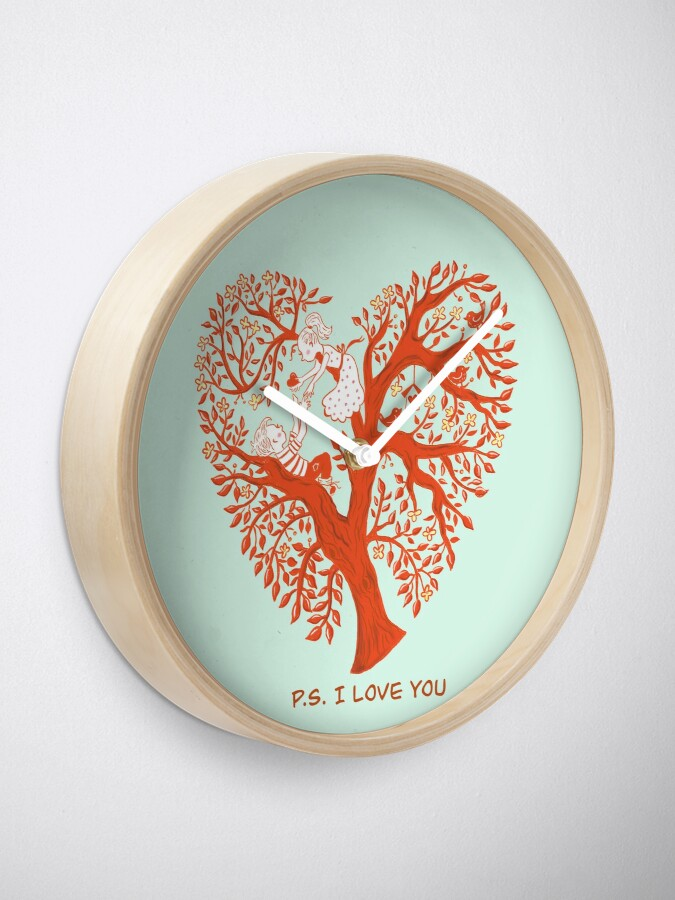 Alternate view of P.S. I Love you Clock