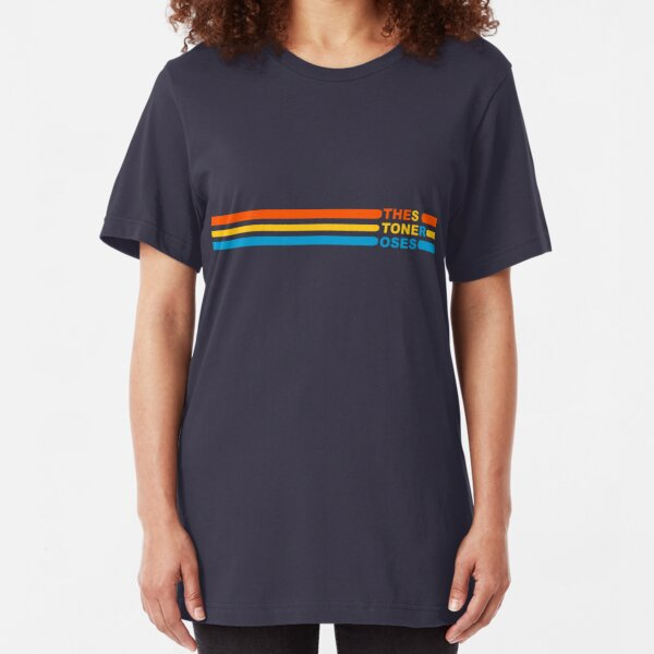 Stone Roses Tri-Colour Slim Fit T-Shirt