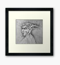 Drawing Day Drawing 2. Framed Print