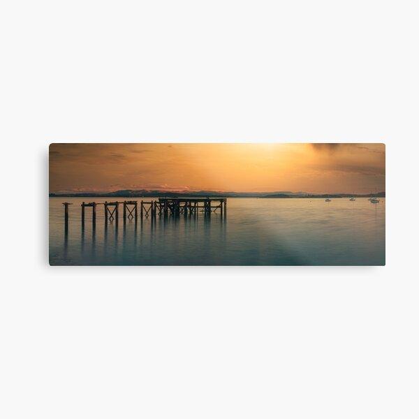 Abedour Pier Metal Print