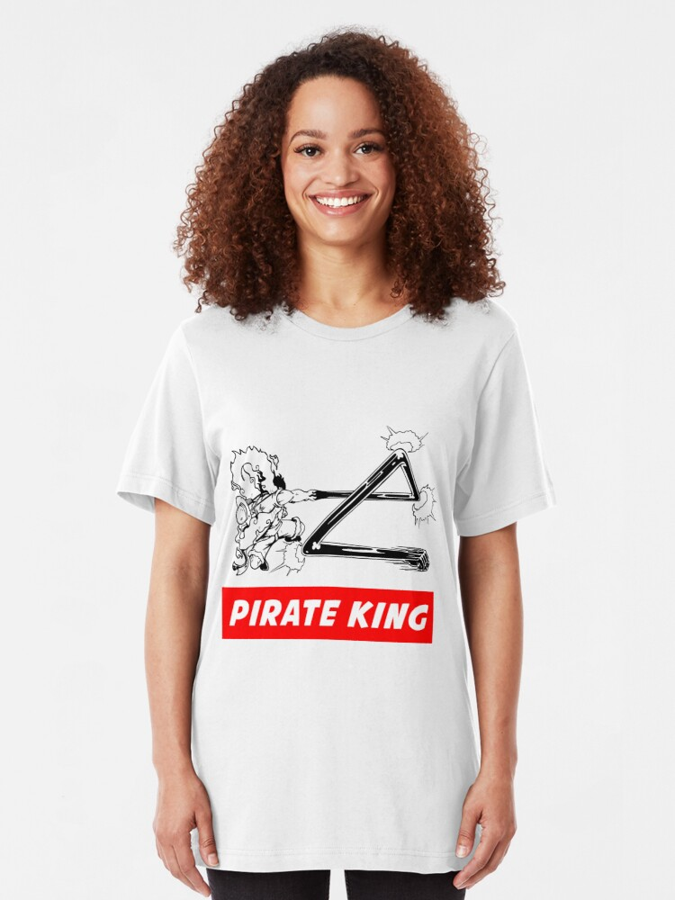 Alternate view of Monkey D. Luffy Gear Fourth - Pirate King Slim Fit T-Shirt