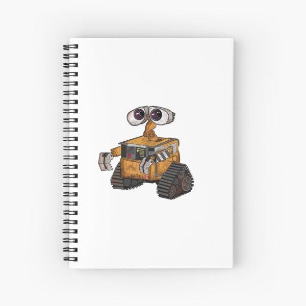 Wall-e Spiral Notebook