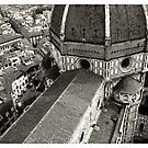 Duomo dome from above Florence Italy by grorr76