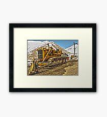Snowplow Framed Print
