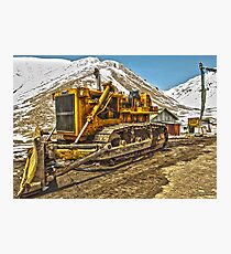 Snowplow Photographic Print
