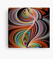 Splits-Cylinder Intricate Canvas Print