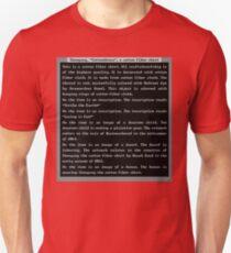 Dwarf Fortress Shirt Artifact RED ONLY T-Shirt