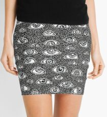 Evil Eyes Mini Skirt